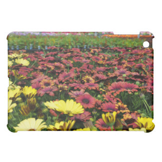 Yellow and Red Flowers iPad Case