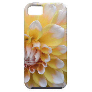 Yellow and White Dahlia Case For The iPhone 5