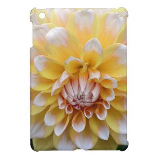 Yellow and White Dahlia iPad Mini Cover