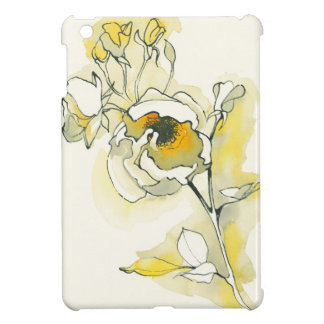 Yellow and White Roses Cover For The iPad Mini
