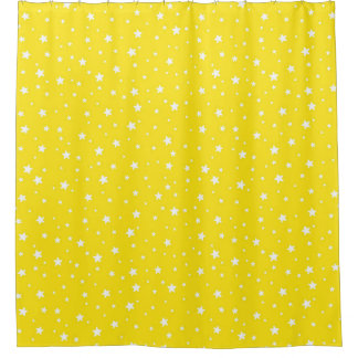Yellow and White Stars Celestial Sky