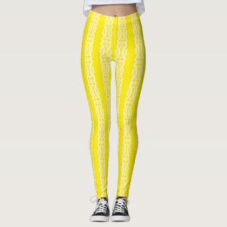 yellow and white sunshine pants