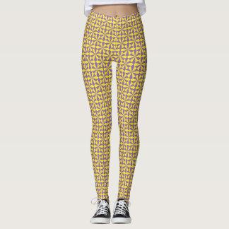 Yellow Angles Leggings