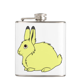 Yellow Arctic Hare Flasks