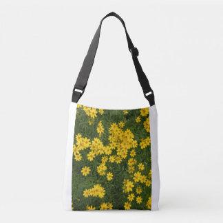 Yellow Arizona Flowers Crossbody Bag