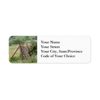Yellow Arrow Address Labels