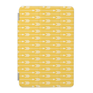 Yellow Arrows Pattern iPad Mini Cover
