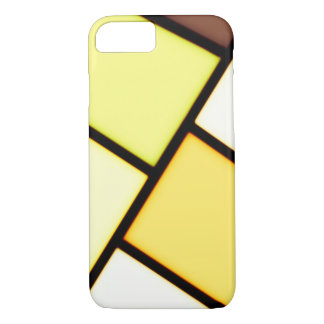 Yellow art design iPhone 8/7 case