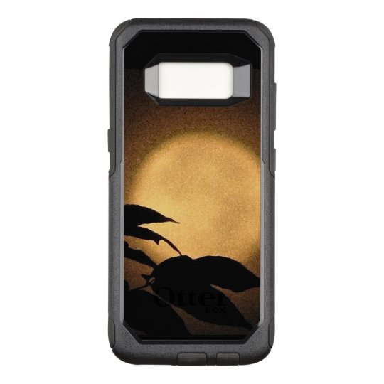 Yellow Autumn Moon OtterBox Galaxy S8 Case