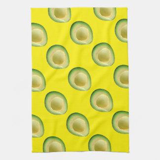 Yellow Avocados 4Kiki Kitchen Towels