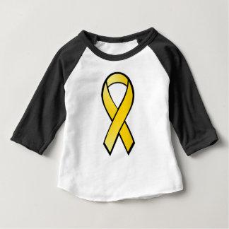 Yellow Awareness Ribbon Baby T-Shirt