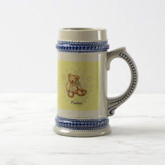 Yellow Baby Bear Beer Stein