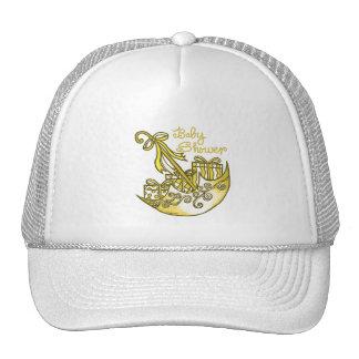 Yellow Baby Shower Hat