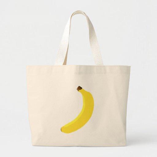 Yellow Banana fruit Tote Bag