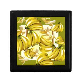 yellow bananas gift box