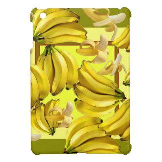 yellow bananas iPad mini cases