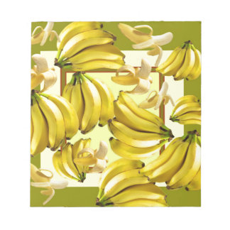 yellow bananas notepad