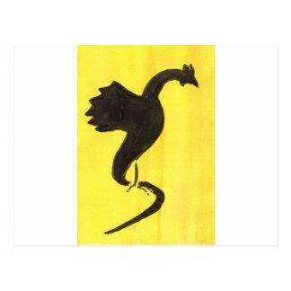Yellow Basilisk Postcard