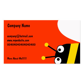 Yellow Bee Business Card