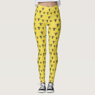Yellow Bee Leggings