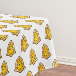 Yellow Bell Sprinkles Cookie Holiday Christmas Tablecloth