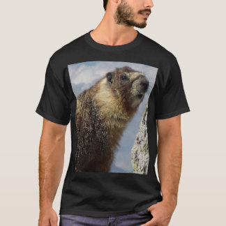 Yellow Bellied Marmot in Yosemite T-Shirt