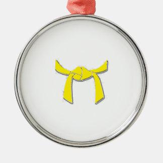 Yellow Belt ornament