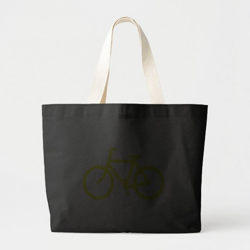 Yellow  Bike Canvas Bags