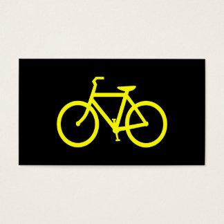Yellow  Bike Business Card