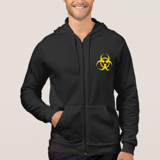Yellow Biohazard Symbol Shirt