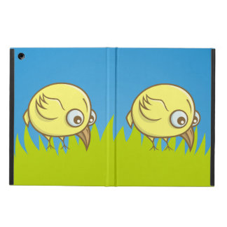 Yellow bird cartoon case for iPad air