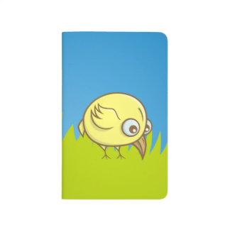 Yellow bird cartoon journals