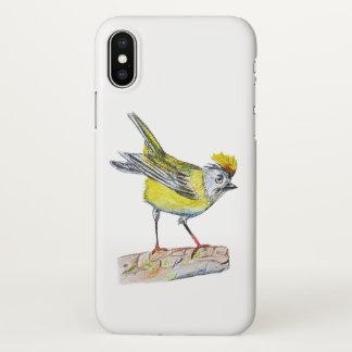 Yellow Bird  Custom iPhone X Glossy Case