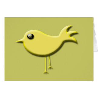 Yellow Bird Gifts Greeting Card