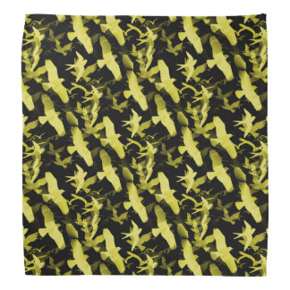Yellow Birds Bandana