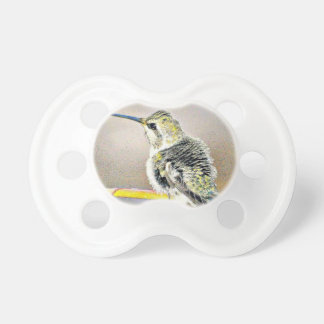 Yellow/Black Baby Hummer Pacifier