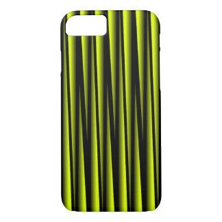 YELLOW BLADES ON BLACK iPHONE 7/8 CASE