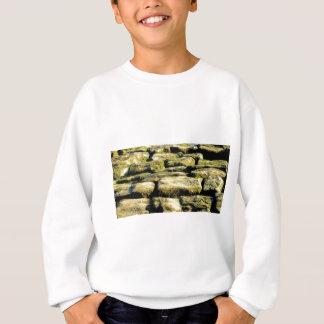 yellow blocks of rock sweatshirt