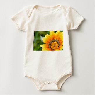 Yellow Bloom Baby Bodysuit
