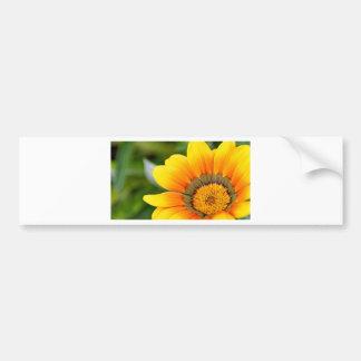 Yellow Bloom Bumper Sticker