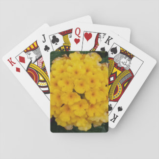 Yellow Blossoms Themed Classic Playing Cards