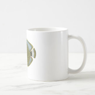 Yellow Blue Butterfly Fish no.11. Home Decor Coffee Mugs