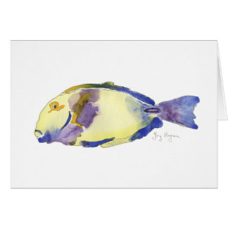 Yellow/Blue Fish Cards