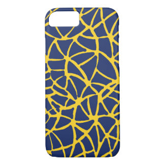 yellow-blue iPhone 7 case