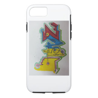 yellow blue red iPhone 8/7 case
