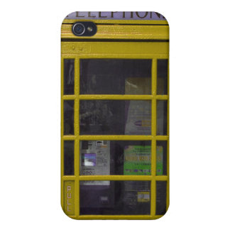 yellow booth 4 casing case for the iPhone 4