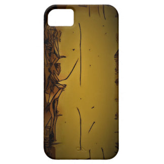 yellow box line art unique powerful amazing gift c iPhone 5 covers