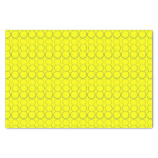 YELLOW BUBBLE TISSUE PAPER