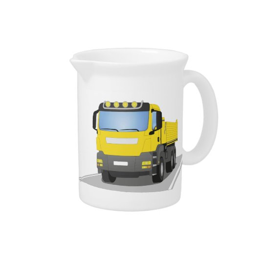 yellow building sites truck pitchers