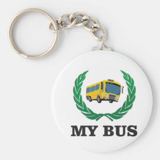 yellow bus my keychain